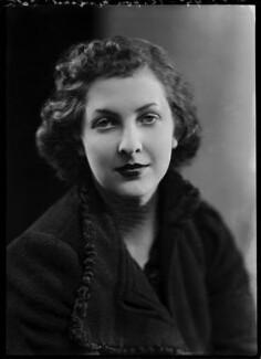 Hon. Margaret Mary Teresa Lyon-Dalberg-Acton, by Bassano Ltd - NPG x156698