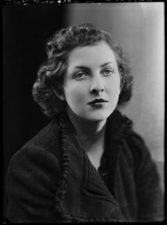 Hon. Margaret Mary Teresa Lyon-Dalberg-Acton, by Bassano Ltd - NPG x156699