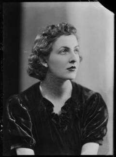 Hon. Margaret Mary Teresa Lyon-Dalberg-Acton, by Bassano Ltd - NPG x156700