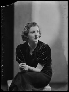 Hon. Margaret Mary Teresa Lyon-Dalberg-Acton, by Bassano Ltd - NPG x156702
