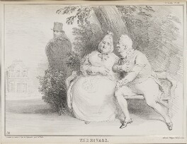 The Rivals, by John ('HB') Doyle, printed by  Alfred Ducôte, published by  Thomas McLean - NPG D41252