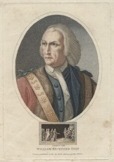 William Beckford, by John Chapman, published by  John Wilkes - NPG D42241