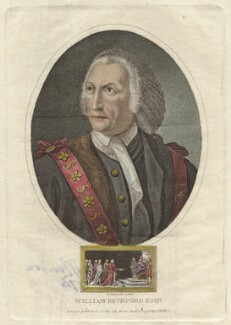William Beckford, by John Chapman, published by  John Wilkes - NPG D42242