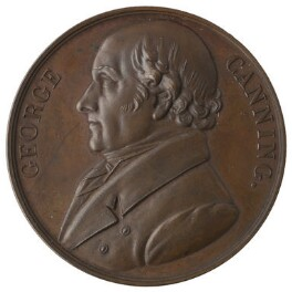 George Canning, by Unknown artist - NPG D42246