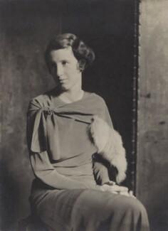 Barbara Strachey (Hultin, later Halpern), by Emil Otto ('E.O.') Hoppé, 1935 - NPG Ax161051 - © 2017 E.O. Hoppé Estate Collection / Curatorial Assistance Inc.