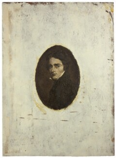 Probably Leigh Hunt, formerly called Percy Bysshe Shelley, by Ellen Maurice ('Nellie') Heath, after  William Edward West - NPG D42249