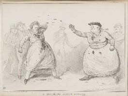 A Shocking Dirty Affair, by John ('HB') Doyle, printed by  Alfred Ducôte, published by  Thomas McLean, published 10 July 1834 - NPG D41262 - © National Portrait Gallery, London