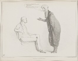 Gratitude (Charles Grey, 2nd Earl Grey; Henry Brougham, 1st Baron Brougham and Vaux), by John ('HB') Doyle, printed by  Alfred Ducôte, published by  Thomas McLean - NPG D41268