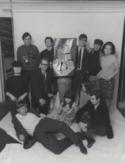The Staff of Private Eye, 1965, by Lewis Morley, 1965 - NPG x135520 - © Lewis Morley Archive