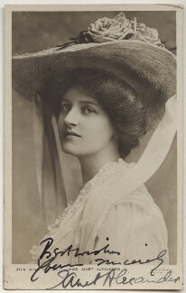 Janet Alexander, by W. & D. Downey, published by  Rotary Photographic Co Ltd, mid 1900s - NPG x160474 - © National Portrait Gallery, London