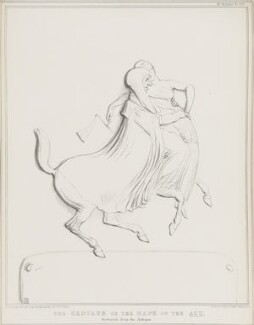 The Centaur or the Rape of the Act (Henry Brougham, 1st Baron Brougham and Vaux), by John ('HB') Doyle, printed by  Ducôte & Stephens, published by  Thomas McLean - NPG D41282