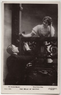 (Joseph) Farren Soutar and Edna May (Edna Pettie) in 'The Belle of Mayfair', by Bassano Ltd, published by  Davidson Brothers - NPG x160481
