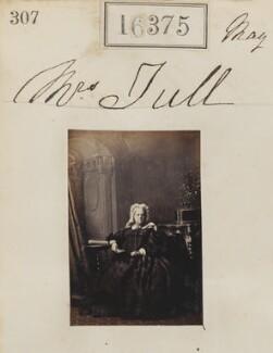 Hannah Tull, by Camille Silvy - NPG Ax64289