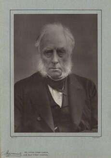 William Cavendish, 7th Duke of Devonshire, by Herbert Rose Barraud, published by  Eglington & Co, published 1889 - NPG x8028 - © National Portrait Gallery, London