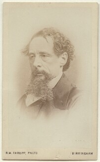 Charles Dickens, by Robert White Thrupp, after  John & Charles Watkins - NPG x135522