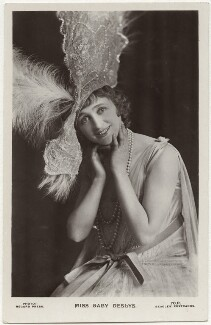 Gaby Deslys (Marie-Elise Gabrielle Caire), by Record Press, published by  J. Beagles & Co, 1910s - NPG x160495 - © National Portrait Gallery, London