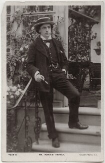 Sir John Martin-Harvey, by G.C., published by  Rotary Photographic Co Ltd - NPG x160506