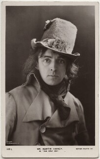 Sir John Martin-Harvey as Sydney Carton in 'The Only Way', by London Stereoscopic & Photographic Company, published by  Rotary Photographic Co Ltd - NPG x160511