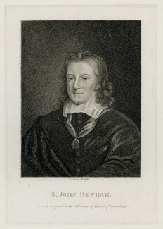 Sir John Denham, by L. Legoux - NPG D42252