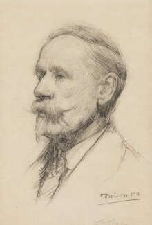 Walter Crane, by Flora Lion, 1911 - NPG 6943 - © reserved; collection National Portrait Gallery, London