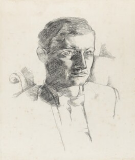 David Emery Gascoyne, by Jankel Adler - NPG 6939