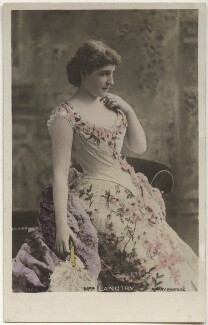 Lillie Langtry as Lena Despard in 'As in a Looking Glass', by Benjamin Joseph Falk, published by  Rotary Photographic Co Ltd - NPG x160521
