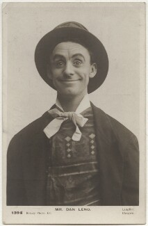 Dan Leno, by Langfier Ltd, published by  Rotary Photographic Co Ltd - NPG x160524