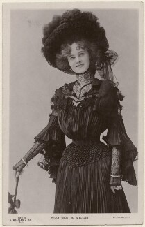 Gertie Millar as Cora in 'The Toreador', by Alfred Ellis & Walery, published by  J. Beagles & Co, 1901 - NPG x160530 - © National Portrait Gallery, London