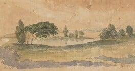 Landscape study, by Robert Dighton - NPG 5477a
