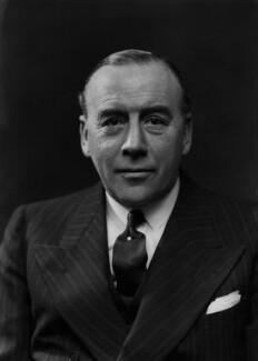 Sir Charles Worthington Craven, 1st Bt, by Bassano Ltd - NPG x156909