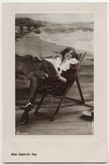 Gabrielle Ray, by Bassano Ltd, published by  Aristophot Co Ltd, circa 1910 - NPG  - © National Portrait Gallery, London