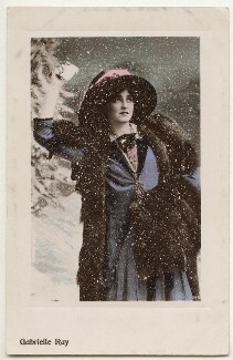 Gabrielle Ray, published by Aristophot Co Ltd, circa 1910 - NPG  - © National Portrait Gallery, London