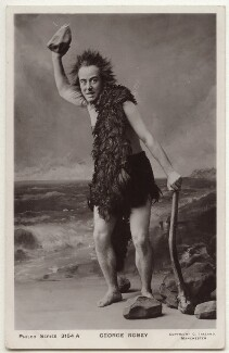 George Robey as Robinson Crusoe, by Edward Ireland, published by  The Philco Publishing Co - NPG x160574