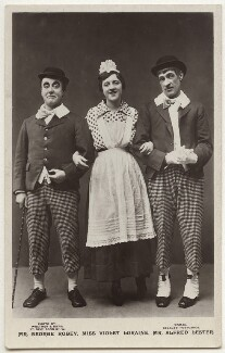 George Robey; Violet Loraine and Alfred Lester in 'The Bing Boys Are Here', by Wrather & Buys, published by  J. Beagles & Co, 1916 - NPG x160579 - © National Portrait Gallery, London