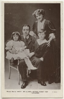 Eileen Robey; George Robey; Ethel Haydon; Edward George Robey, by R. Brown, published by  The Philco Publishing Co - NPG x160581