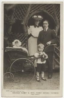 Eileen Robey; Ethel Haydon; Edward George Robey; George Robey, published by Rotary Photographic Co Ltd - NPG x160582