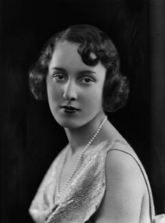 Lady Cecilia Katherine Wachman (née Wellesley), by Bassano Ltd - NPG x179293