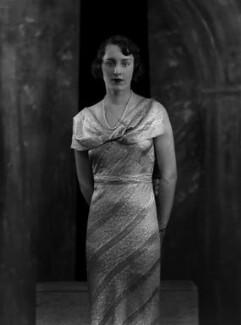Lady Cecilia Katherine Wachman (née Wellesley), by Bassano Ltd - NPG x179296