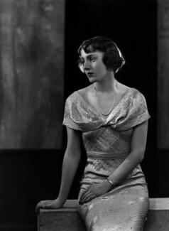 Lady Cecilia Katherine Wachman (née Wellesley), by Bassano Ltd - NPG x179298