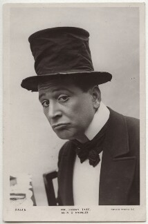 Harry Tate (Ronald McDonald Hutchison) as R.G. Knowles, by Clarke & Hyde, published by  Rotary Photographic Co Ltd - NPG x160587