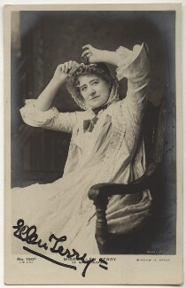 Ellen Terry as Nance Oldfield, by Window & Grove, published by  J. Beagles & Co - NPG x160593