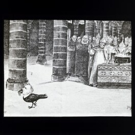 Arthur Balfour, Frederick Temple, Edward White Benson et al, after Sir Francis Carruthers Gould ('F.C.G.') - NPG D41949