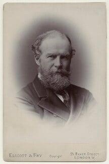 John Lubbock, 1st Baron Avebury, by Francis Henry Hart, for  Elliott & Fry - NPG x135531