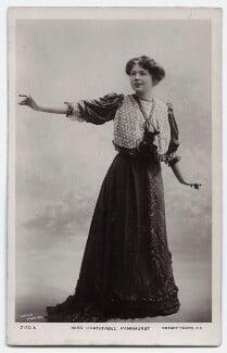 Dame Christabel Pankhurst, by Lallie Charles (née Charlotte Elizabeth Martin), published by  Rotary Photographic Co Ltd, 1908 - NPG x135535 - © National Portrait Gallery, London