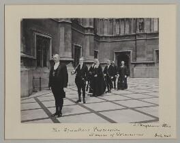 'The Speaker's procession', by Sir (John) Benjamin Stone, July 1906 - NPG x135538 - © National Portrait Gallery, London