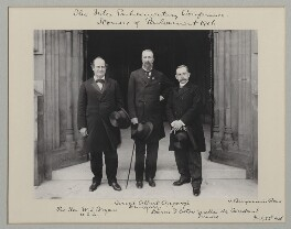 'The Inter-Parliamentary Conference, Houses of Parliament, 1906', by Sir (John) Benjamin Stone, 25 July 1906 - NPG x135545 - © National Portrait Gallery, London