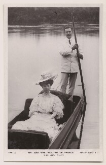 Vesta Tilley; Sir (Abraham) Walter de Frece, published by Rotary Photographic Co Ltd - NPG x160605