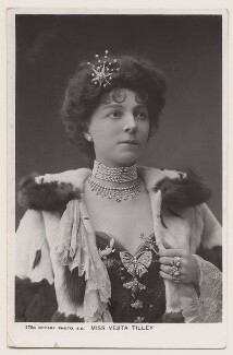 Vesta Tilley, published by Rotary Photographic Co Ltd - NPG x160604