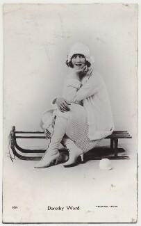Dorothy Ward, by Fielding of Leeds - NPG x160609