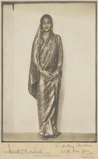 Maharaj Kumari Lalitarni Devi of Burdwan, by Dorothy Wilding - NPG x135561